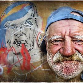 Similitudes by Annamaria Germani - People Portraits of Men