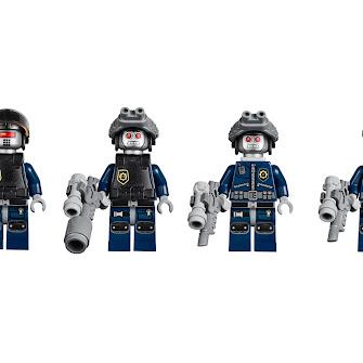 Суперсекретный десантный корабль полиции