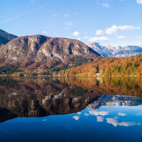 The lake of Bohinj by Bojan Berce - Uncategorized All Uncategorized