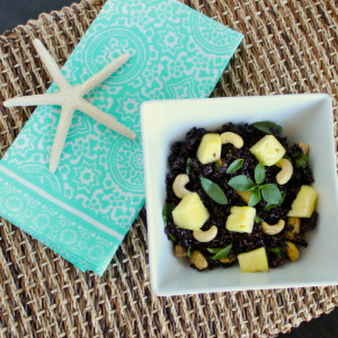 Thai-Style Pineapple Black Rice