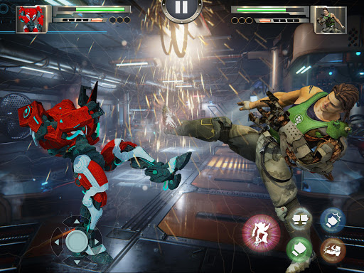 Real X-Ray Robot Fighting Game screenshot 12