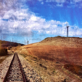Wind energy  by Antonello Madau - Instagram & Mobile iPhone