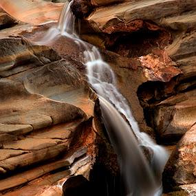 Hamersley Gorge  by William Greenfield - Landscapes Waterscapes ( water, hamersley gorge, karijini, australia, pilbara, stone, outback, rock, karijini national park, western australia )
