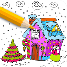 Adult Coloring Book-ColorXmas