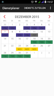 Shift Scheduler - screenshot