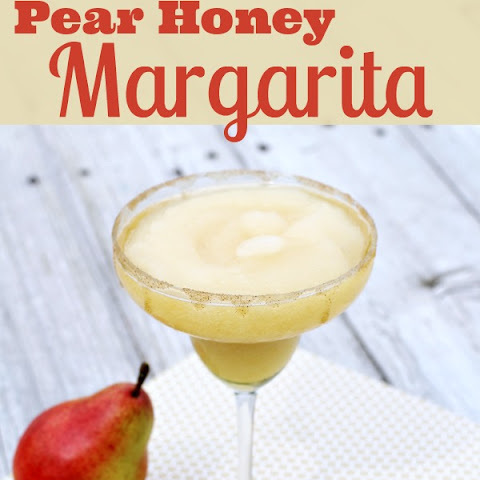 Pear Honey Margarita
