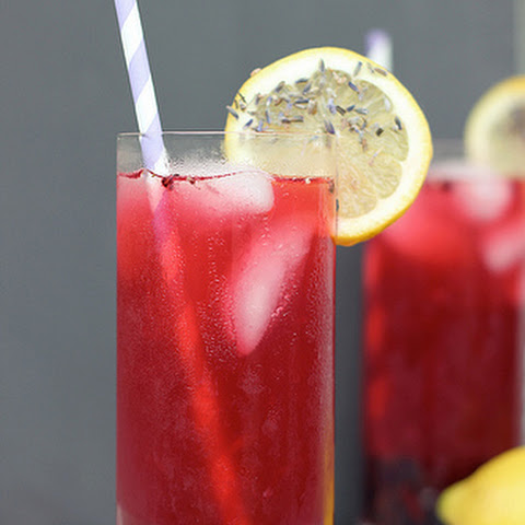 Blackberry Lavender Lemonade