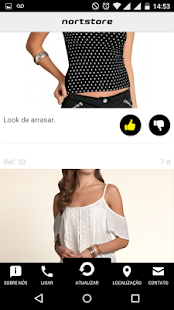 Nortstore - Vitrine Mobile - screenshot
