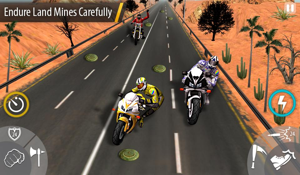 Bike Attack Race : Stunt Rider Screenshot 4