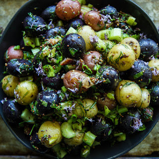 Red White And Blue Potato Salad Recipes