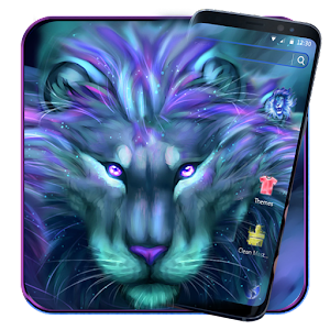 Download Galaxy Lion Cool Theme For PC Windows and Mac