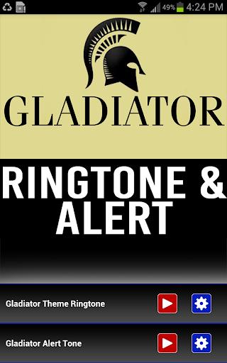 Gladiator Ringtone and Alert - screenshot