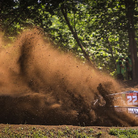 Monster Roost by Kenton Knutson - Sports & Fitness Motorsports ( roost, truck, monster energy, dirt )