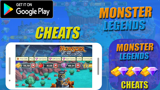Cheats For Monster Legends Prank ! APK for Kindle Fire