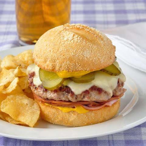 Cuban Sandwich Burger