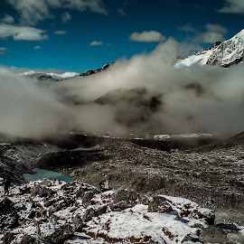 Enter the Dragon by Akashneel Banerjee - Instagram & Mobile Other ( mountain, nature, himalaya, trekking, lake )