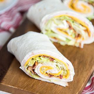 Turkey Bacon Ranch Wrap Recipes