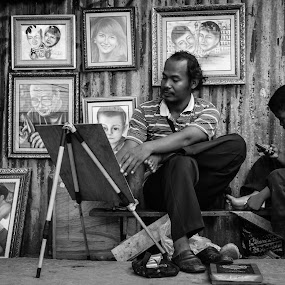 street painter  by Said Rizky - People Portraits of Men