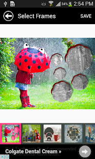 Latest Rain Picture Frames - screenshot
