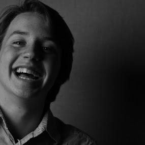 Matt by David Vanveen - People Portraits of Men ( black and white, portrait )
