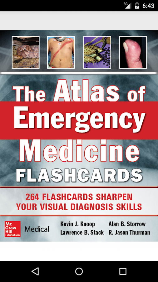 Emergency Medicine Flashcards Screenshot 0