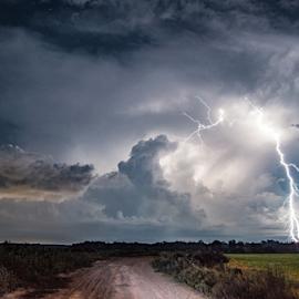 Summer Storm by Brian Box - Landscapes Weather ( #thunderstorm, #storm, #weather, #stormynight, #tempest, #itsamazingoutthere, #longexposure, #lightning, #lightningatnight, #electric, #thunder, #arkansasweather, #lightningphotography, #earthfocus )