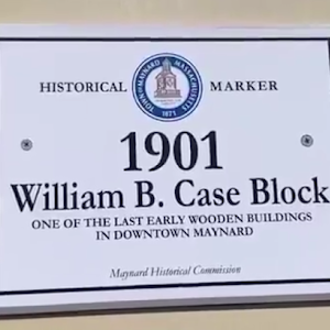 1901 William B. Case Block ONE OF THE LAST EARLY WOODEN BUILDINGS IN DOWNTOWN MAYNARD Submitted by @russcamphoto
