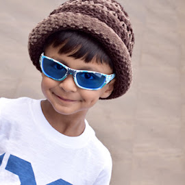 Style with Sunglasses! by Priyanka Gupta - Babies & Children Children Candids ( stylish, children, candid, sunglasses, portrait,  )