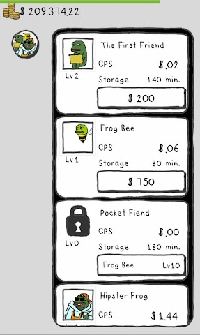 android Frogs Screenshot 1