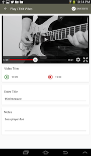 Riff Grabber YouTube Looper - screenshot