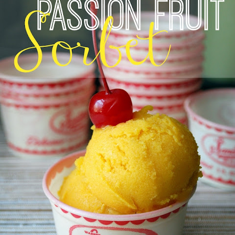 Passion Fruit Sorbet