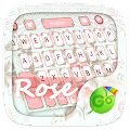 Rose GO Keyboard Theme & Emoji 4.15 icon
