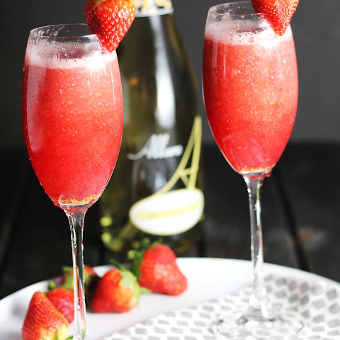 Strawberry Bellinis
