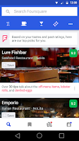 Screenshot of Foursquare - Best City Guide