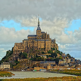 Mont Saint-Michel  by Lanis Rossi - Buildings & Architecture Other Exteriors