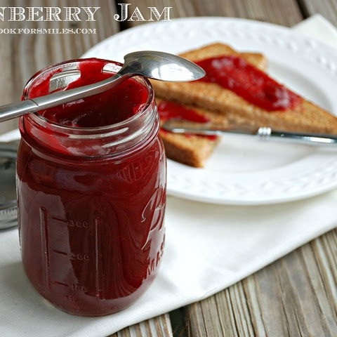 Homemade Cranberry Jam
