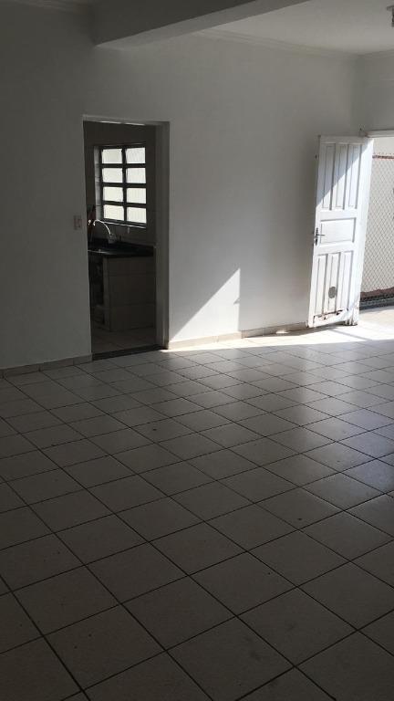 Casa com 3 dormitórios para alugar, 75 m² por R$ 1.600/mês - Macuco - Santos/SP