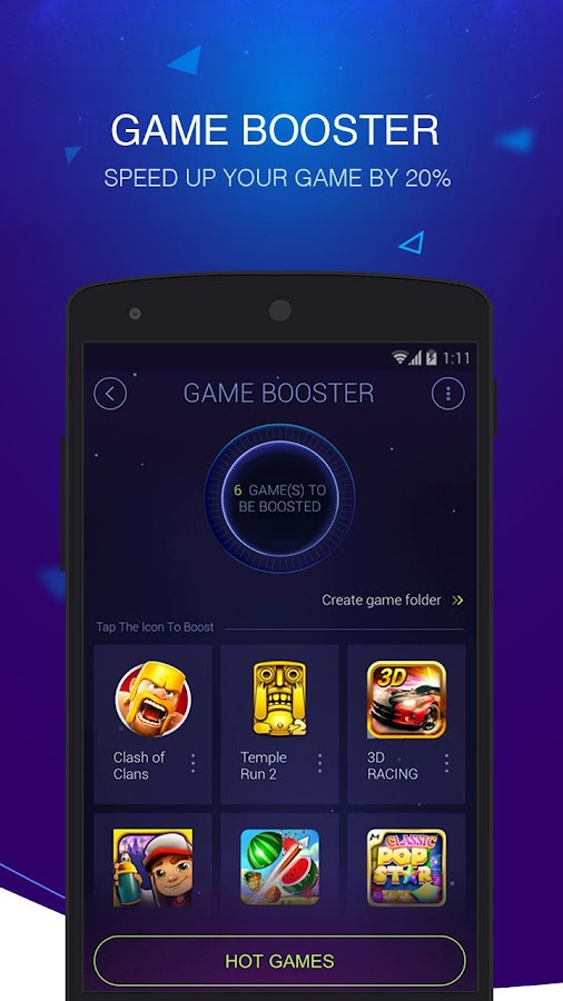 DU Speed Booster & Cleaner Screenshot 9