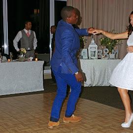 Dancing Teens by Ingrid Anderson-Riley - Wedding Reception