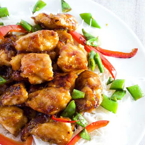 Sticky Honey Sriracha Chicken