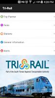 Screenshot of Tri-Rail