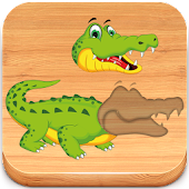 Download Puzzles for kids Zoo Animals APK on PC