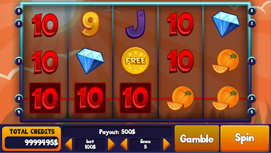 Game Mixing Fruits Slots apk for kindle fire