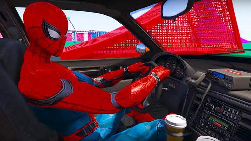 Cop Cars Superhero Stunt Simulator For PC