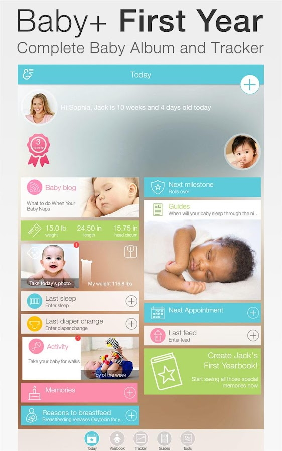 Baby + : your baby tracker Screenshot 5