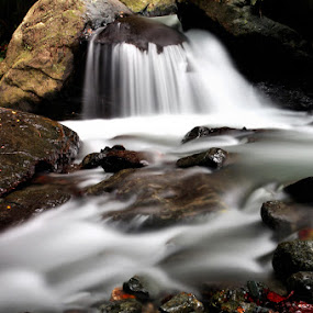 WERA RIVER by Hajar Wisnu Dwiputra - Nature Up Close Rock & Stone ( water, rock, slow speed )