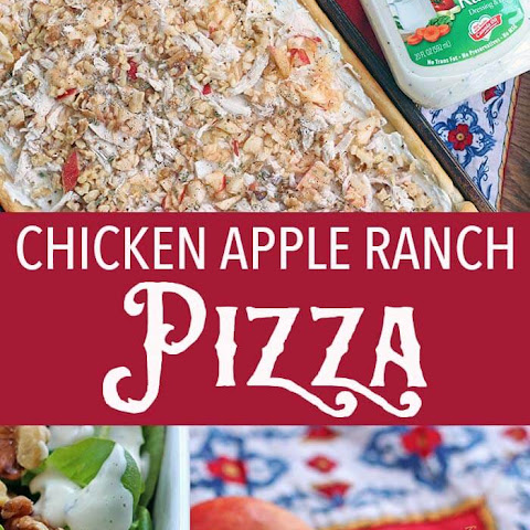 Chicken Apple Ranch Pizza