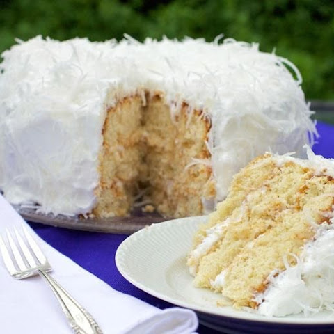 Diabetic-Friendly Coconut Layer Cake