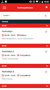 Eventos Mobile - screenshot
