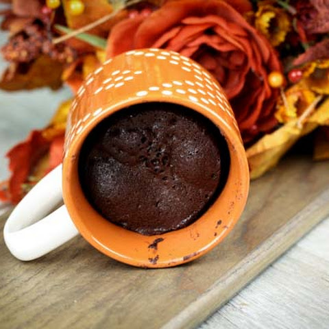 Almond Flour Chocolate Mug Cake